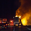 6-11-09 Semi Fire,Copyright Charlie Groh,All Rights Reserved