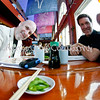 3-31-08 Sushi and Eric <br /> Copyright Charlie Groh<br /> All Rights reserved