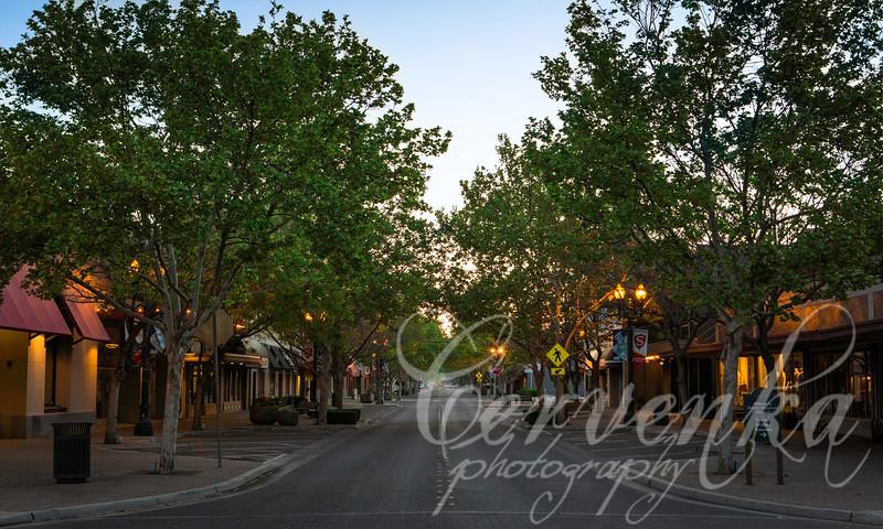 Sunday Morning on Main Street
