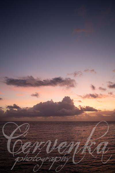 Sunrise on the Caribbean