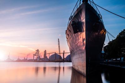Sunrise HMCS Haida