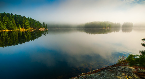 Reflections - Smoky Lake, Noganosh Lake Provincial Park