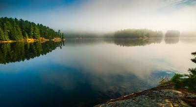 Reflections - Smoky Lake, Noganosh Lake Provincial Park