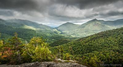 Cascade Mountain Trail Vista
