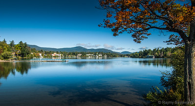 Autumn Starting in Lake Placid New York