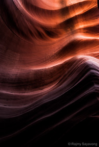 Patterns in the Rock Antelope Canyon