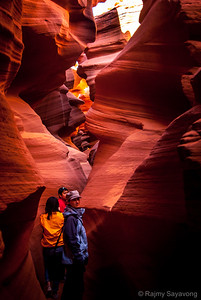 Soaking in the Light and Colour Antelope Canyon