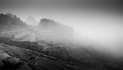 The vale of fog, Machu Picchu, Peru