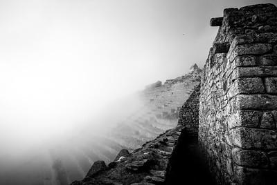 Terrace - Machu Picchu, Peru