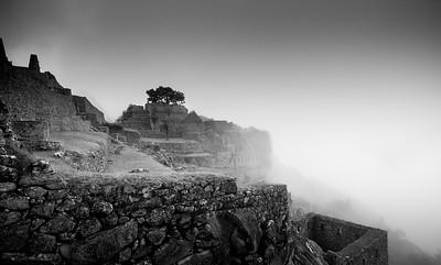 Fog Rising - Machu Picchu, Peru