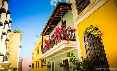 Old San Juan Colours - Puerto Rico