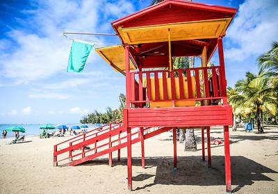 Lifeguard Tower - Puerto Rico