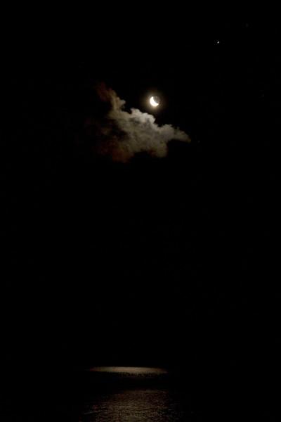 Moonrise over Lake Ontario