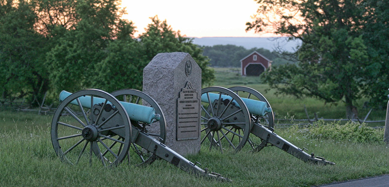 Canons at Gettysburg, PA