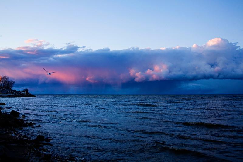 Rainclouds in Blue
