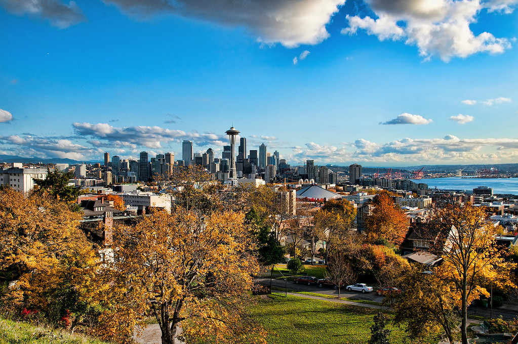 Seattle From Upper Queen Anne<br /> Seattle, Washington