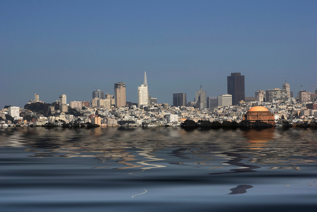 San Francisco Skyline & Flood<br /> San Francisco, California