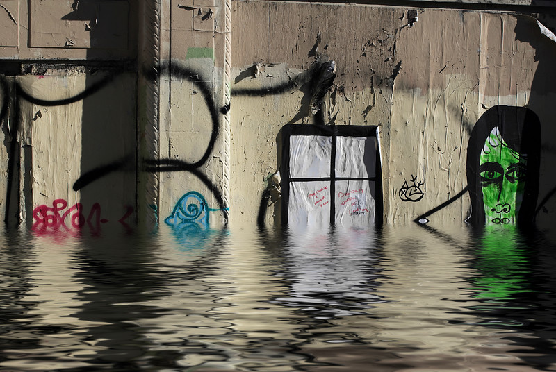 Graffiti & Flood San Francisco, California