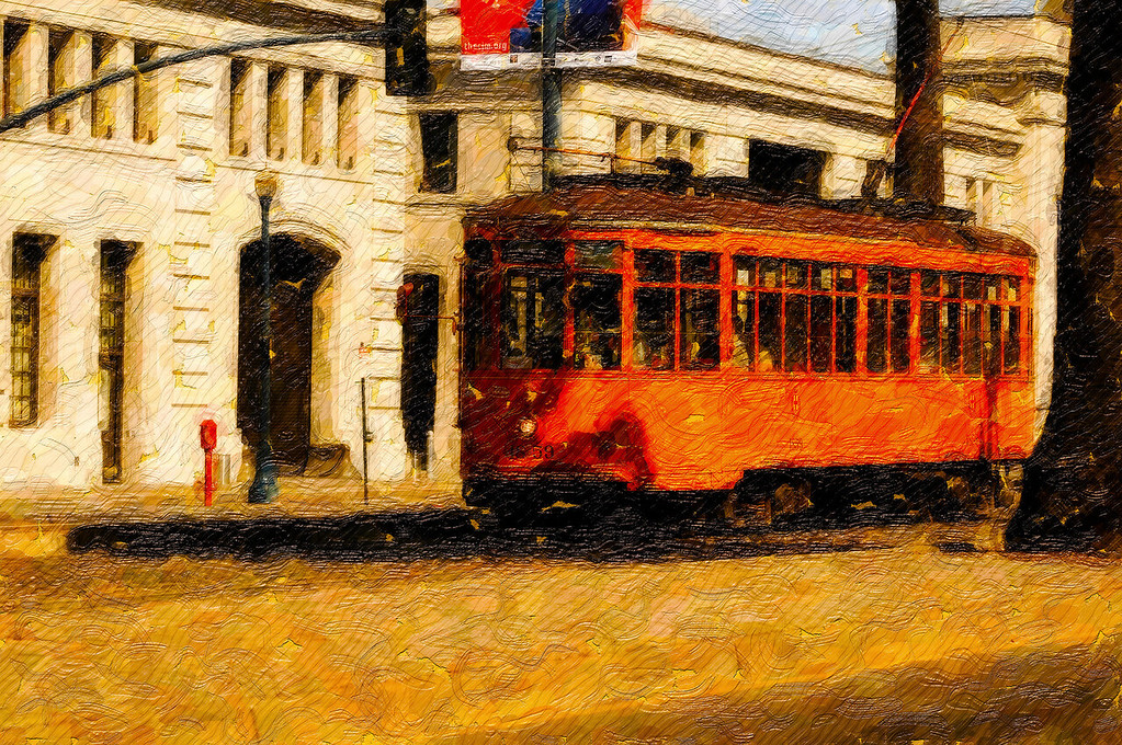 Milan Peter Witt Trolley<br /> San Francisco, California