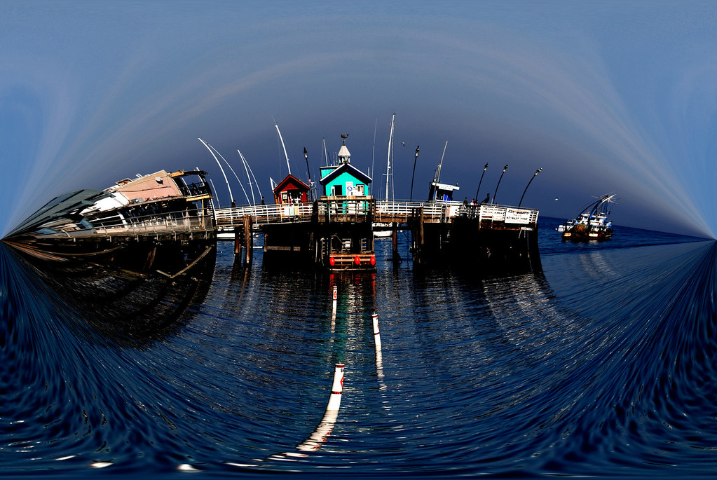 Old Fisherman's Wharf<br /> Monterey Bay, California