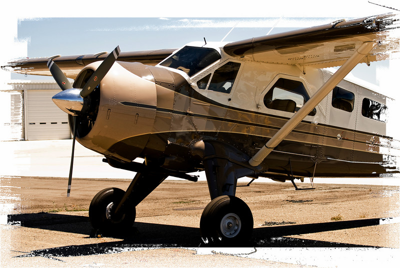 De Havilland Canada DHC-2 Beaver<br /> San Luis Obispo County Regional Airport, San Luis Obispo, California