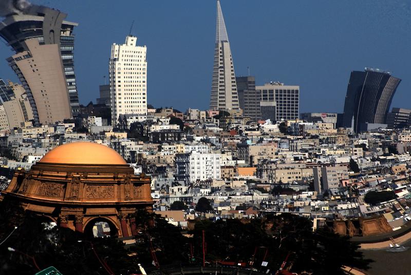 San Francisco skyline<br /> San Francisco, California