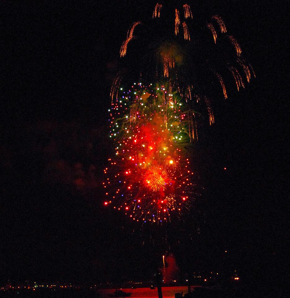 Fireworks<br /> Boulevard Park, Bellingham, Washington