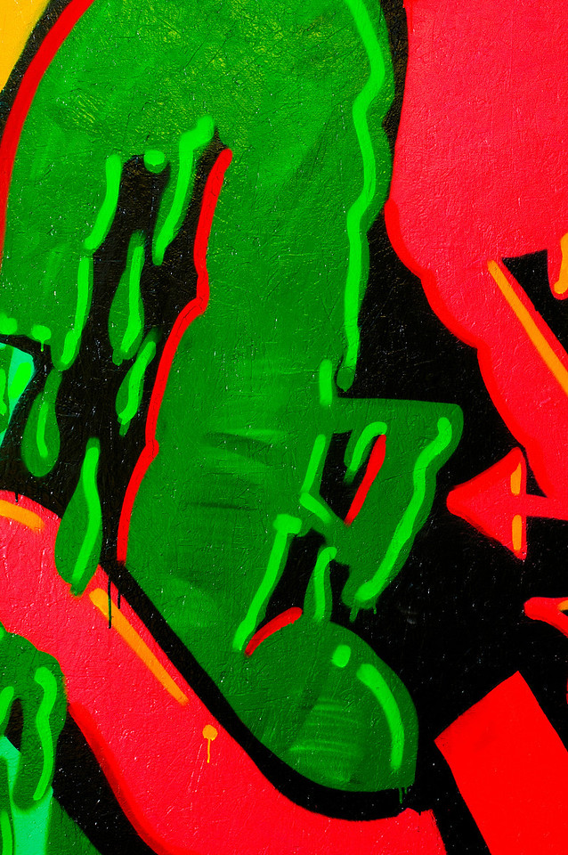 Graffiti Art<br /> Phoenix Theater, Petaluma, California