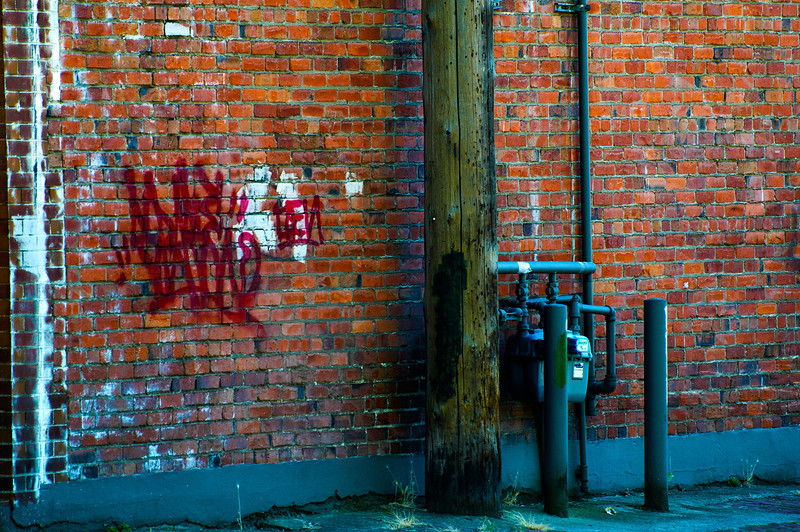 Vandalism Graffiti<br /> Bellingham, California