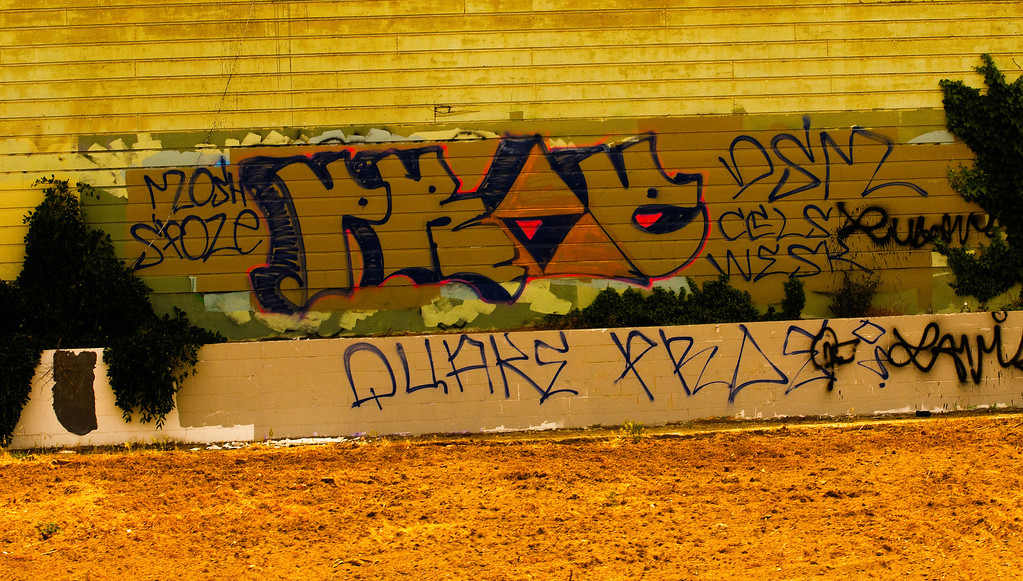 Vandalism Graffiti<br /> San Francisco, California