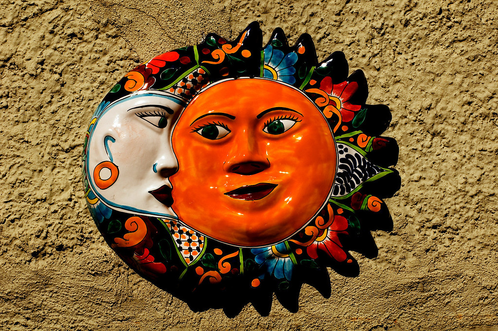 Moon and Sun<br /> Jerome, Arizona
