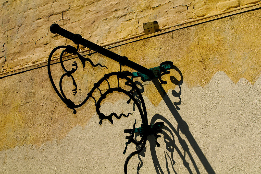 Decorative Metalwork<br /> Historic downtown Petaluma, California