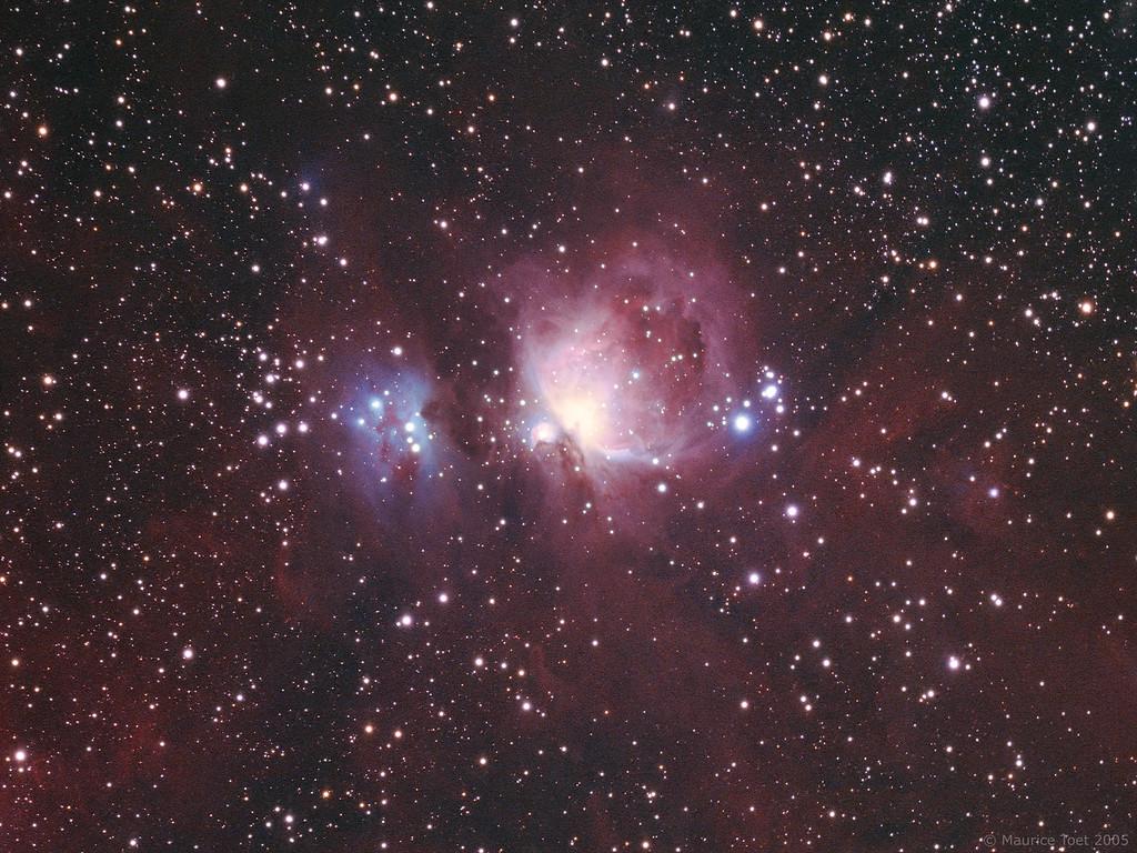 M42, M43 & NGC 1977, Orion Nebula
