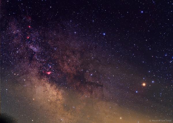 Pipe Nebula & Rho Ophiuchi Cloud Complex