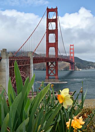 Golden Gate Bridge - Mar 2015
