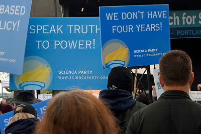 March for Science PDX - Apr 2017