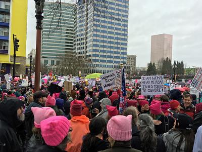 Women's March PDX - Jan 2017