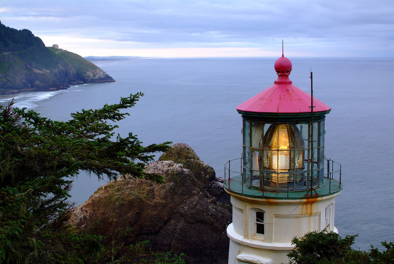 """Heceta Head Lighthouse"" / Oregon Coast"