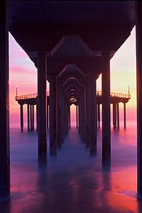 """Aliso Pier"" / Laguna Beach"