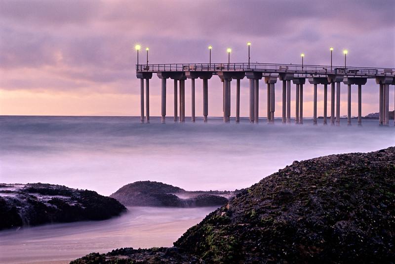 """Old Aliso Pier"" / Laguna Beach"