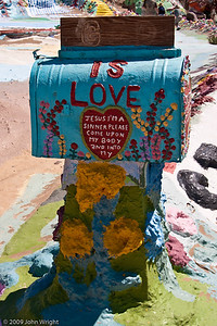Mailbox, Salvation Mountain