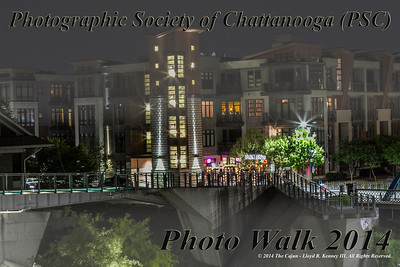 Photographic Society of Chattanooga (PSC) Photo Walk in Chattanooga, Tn.