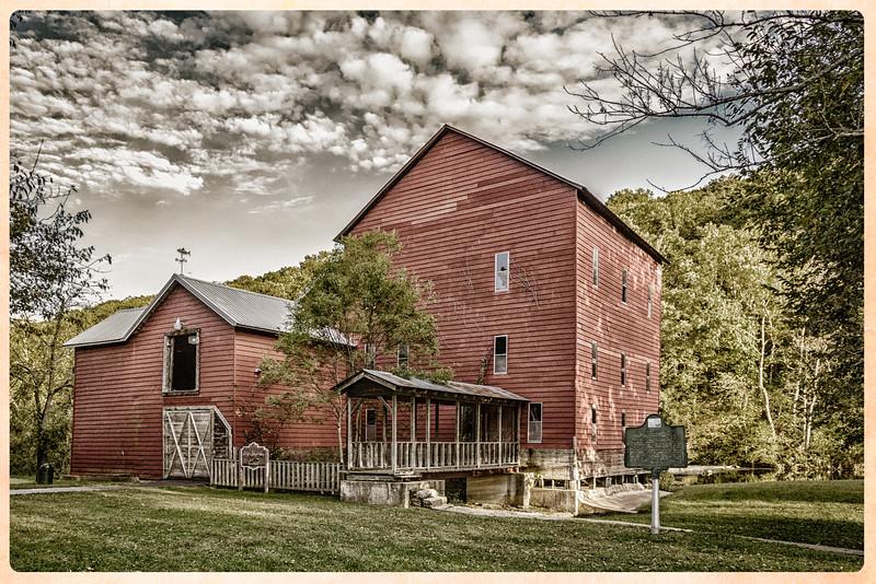 The Grist Mill, Rockbridge, Ozark County, Missouri