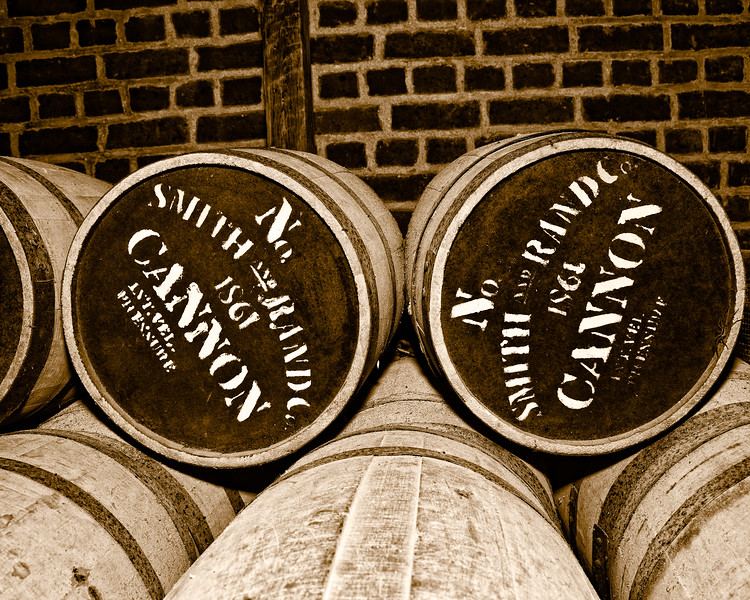 Gunpowder Barrels, Fort Pulaski National Monument, Cockspur Island, Savannah, Georgia