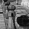 Concrete Posts & Chain Fence, Luxembourg