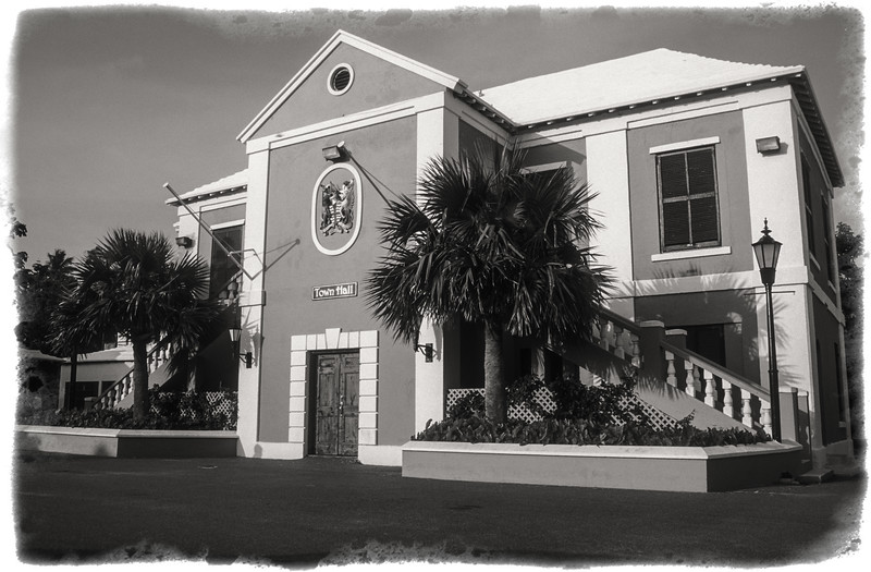 St. George's Town Hall, King's Square, St. George, Bermuda