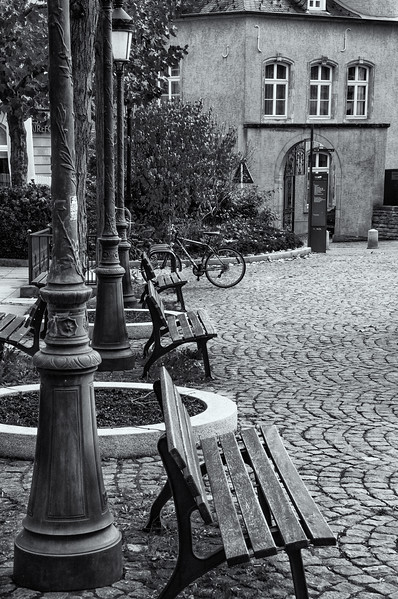Cobbled street, Luxembourg