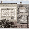 Painted Adverts, Spring Street, Eureka Springs, Ozark Mountains, Arkansas