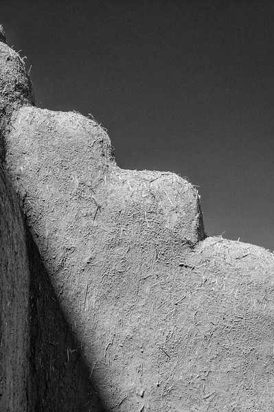 Adobe Architecture Details, Ranchos de Taos, New Mexico