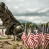 Valor, Fidelity, Sacrifice Sculpture, National D-Day Memorial, Bedford, Virginia